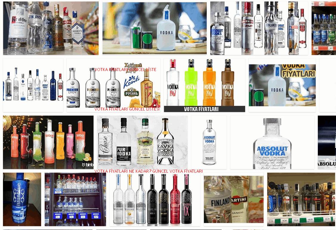 Votka Fiyatları **2021 Temmuz 23, 2021