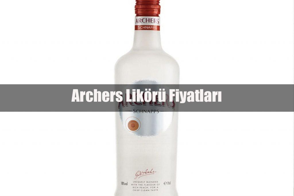 Archers Likörü Fiyatları