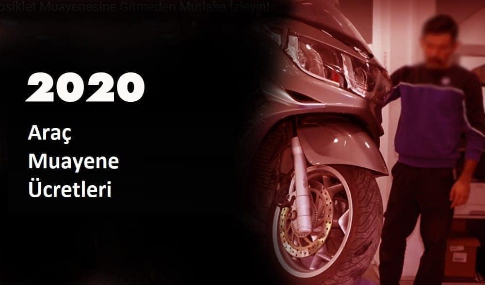 araç muayene ücretleri 2020