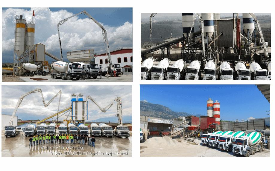 hazır beton fiyatları 2020