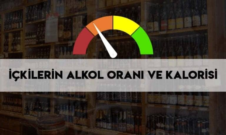 içkilerin alkol oranları